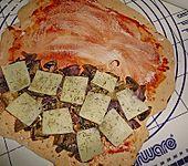 Calzone mit Pilzfüllung (Bild)