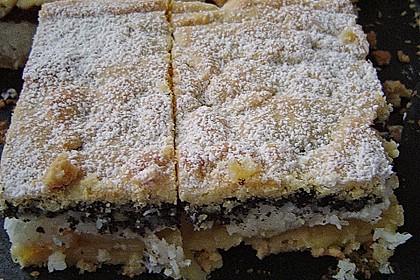5 Schichten  Kuchenschnitten 1
