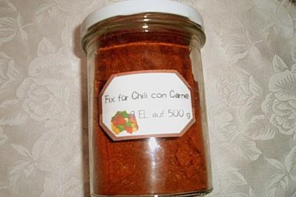 Selbstgemachtes Fix für Chili con Carne 37