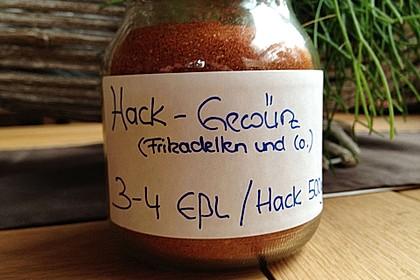 Hack - Gewürzmischung (selbstgemachtes Fix für Hackfleisch) 18