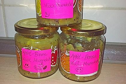 kiwi bananen marmelade rezept mit bild von stinky07. Black Bedroom Furniture Sets. Home Design Ideas