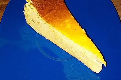 Supercremiger Käsekuchen ohne Boden 9