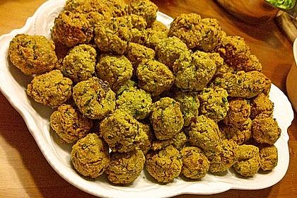 Falafel aus Kichererbsenmehl 5