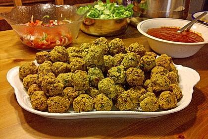 Falafel aus Kichererbsenmehl 2
