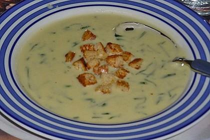 Bärlauch - Sahnesuppe mit Croutons 29