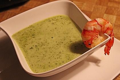 Bärlauch - Sahnesuppe mit Croutons 16