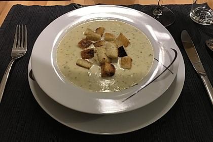 Bärlauch - Sahnesuppe mit Croutons 26