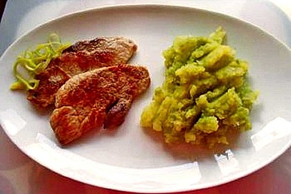 Kartoffelpüree mit Wirsing