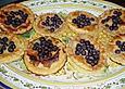 Tartelettes mit Heidelbeeren