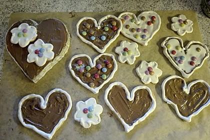 Herz - Choco - Plätzchen 15