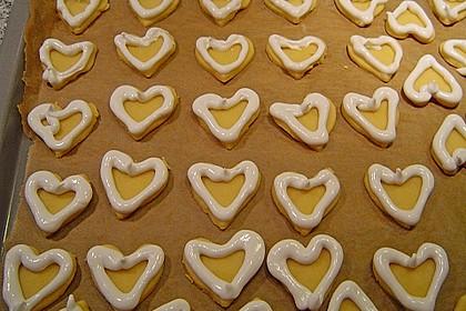 Herz - Choco - Plätzchen 14