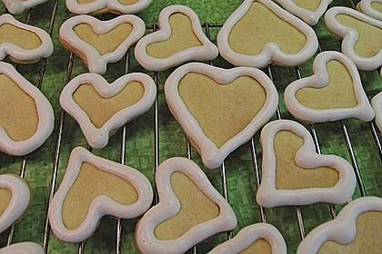 Herz - Choco - Plätzchen 3