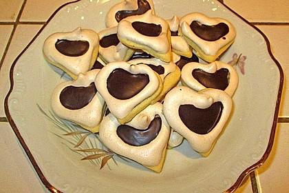 Herz - Choco - Plätzchen 11