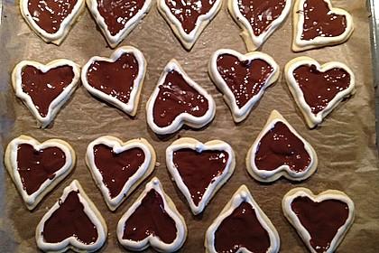 Herz - Choco - Plätzchen 8