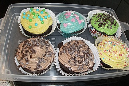 Schoko-Cupcakes 39