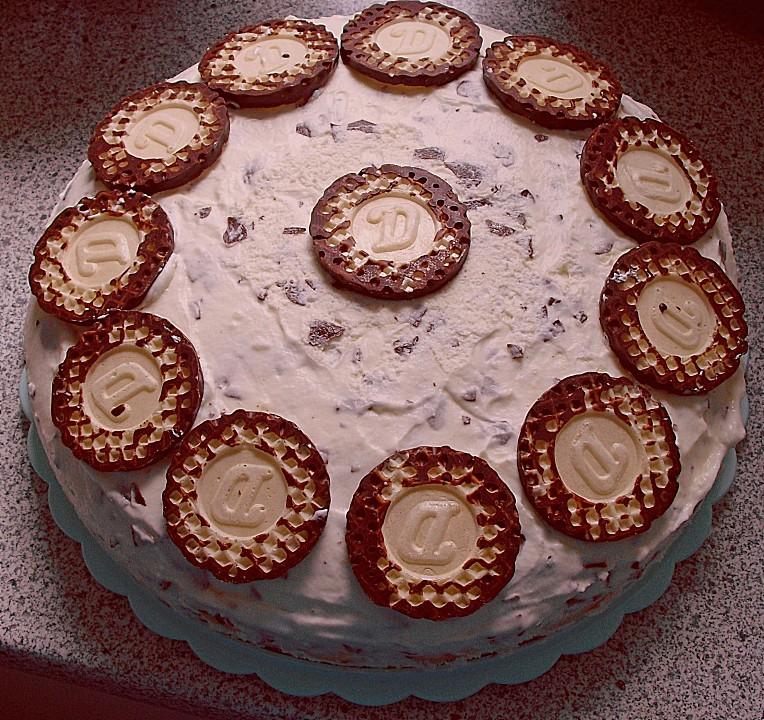 Schokokuss bananen torte