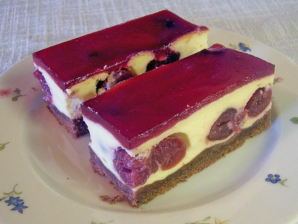 Kuchenrezepte mit quark und kirschen