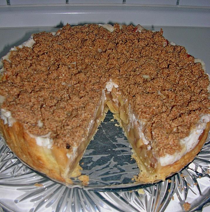 Sour Cream Apple Pie 2