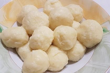 Einfache Kartoffelknödel nach Omas Rezept 2