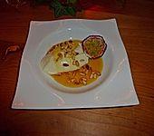 Pinienkerne eingelegt in Orangensirup (Bild)