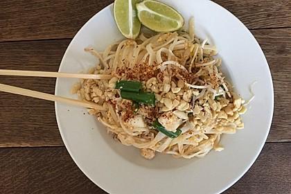 Original thailändisches Pad Thai 8