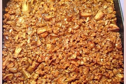 Apfelkuchen mit  Walnuss - Karamell 17