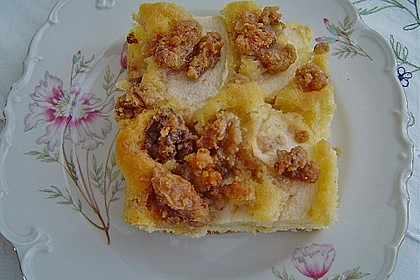 Apfelkuchen mit  Walnuss - Karamell 11