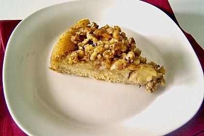 Apfelkuchen mit  Walnuss - Karamell 7