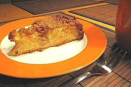 Apfelkuchen mit  Walnuss - Karamell 16