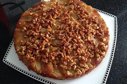 Apfelkuchen mit  Walnuss - Karamell 3