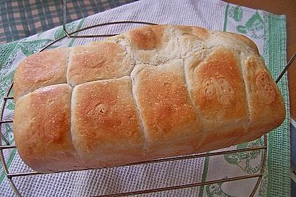 Buttertoast mit Vorteig und kalter Führung 1