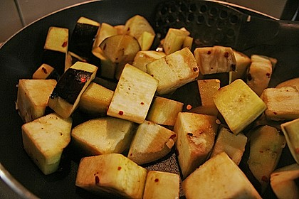 Auberginen Stir Fry 15