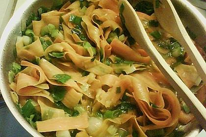 Möhren - Spaghetti 2