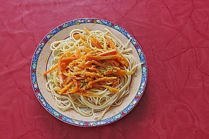 Möhren - Spaghetti 4