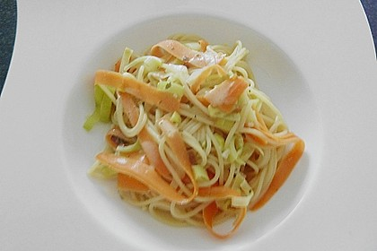 Möhren - Spaghetti 6