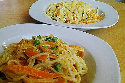 Möhren - Spaghetti 1