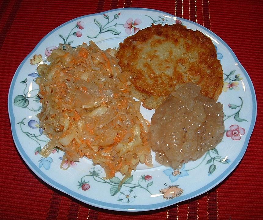 Sauerkrautsalat Mit Apfel