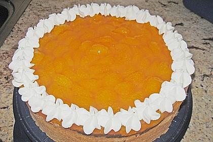 Quarkkuchen mit Mandarin-Orangen 2