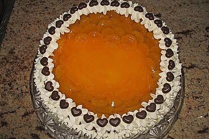 Quarkkuchen mit Mandarin-Orangen 5