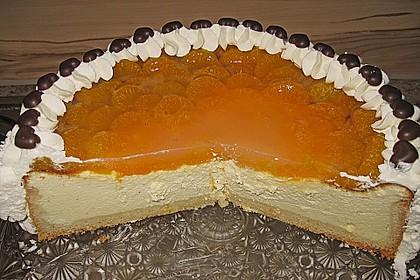 Quarkkuchen mit Mandarin-Orangen 4