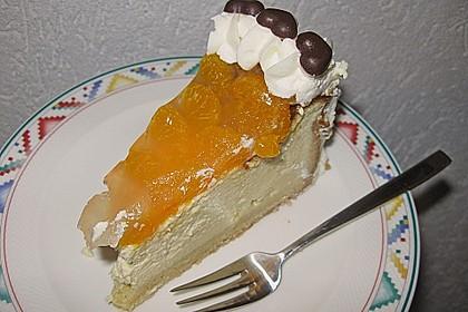 Quarkkuchen mit Mandarin-Orangen 8