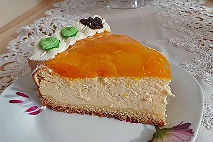 Quarkkuchen mit Mandarin-Orangen 3