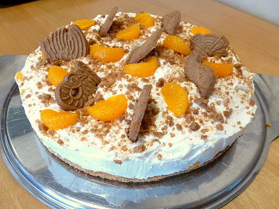 Lebkuchen spekulatius torte