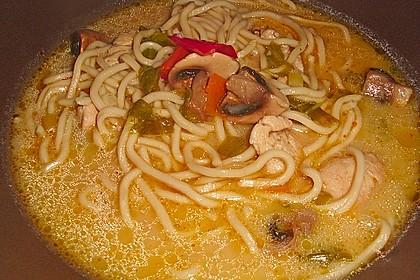 Thai - Nudelsuppe mit Rinderfilet 2