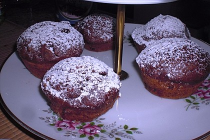Saftige Schoko - Bananen - Muffins 37