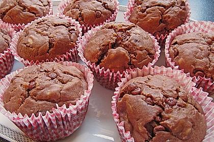 Saftige Schoko - Bananen - Muffins 5