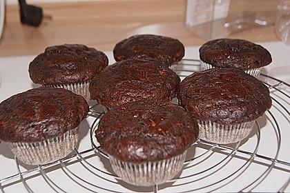 Saftige Schoko - Bananen - Muffins 24