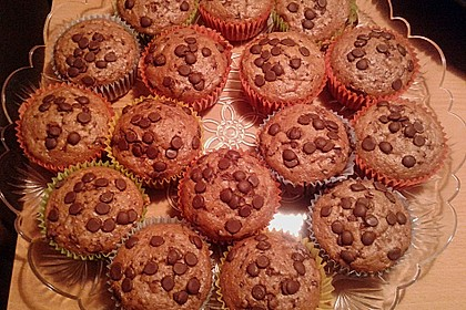 Saftige Schoko - Bananen - Muffins 7