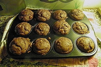 Saftige Schoko - Bananen - Muffins 44