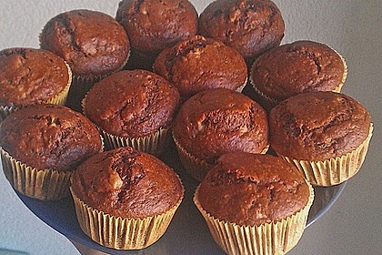 Saftige Schoko - Bananen - Muffins 11